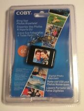 Coby Digital Photo Keychain DP151 Holds 60 Color Display 1.5 Black New Sealed