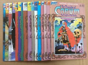 Michael Moorcock Chronicles Corum Knight of Swords 1-12 Bull And The Spear 1-4
