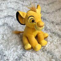 "11"" SIMBA STUFFED ANIMAL TOY DOLL the lion king plush DISNEY kids gift LIKENEW!!"