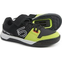 Five Ten 5 10 Hellcat Mountain Bike Shoes Black Semi Solar Yellow / Green Size 9