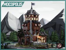 LEGO MOC Custom Medieval Watchtower   PDF instructions (NO PARTS)
