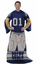 Indianapolis Colts NFL Full Player Comfy Snuggie Blanket