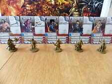Zombicide Green Horde: Deathmaster, Zanzibar, Marquis, Ryan John, Brix Moonshine