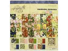 Graphic 45 Gph4501698 Floral Shoppe Collection Pack 12x12