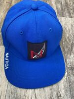 Nautica Cap Blue  Adjustable Leather Strap Sailing