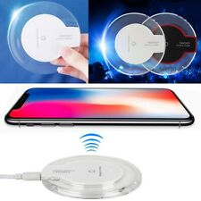 Qi Wireless Charger Charging Pad For iPhone 11 XS MAX XR 8 Samsung S9 S8 S10