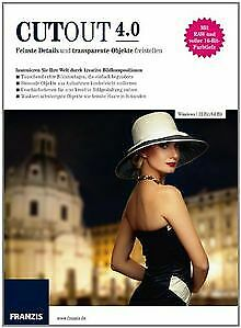 CutOut 4.0 von Franzis Buch & Software Verlag | Software | Zustand sehr gut