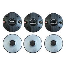 Staraudio 6Pcs 44Mm Pa Dj Audio Speaker Horn Driver Tweeters Titanium Screw-On