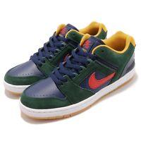 Nike SB Air Force II Low 2 Midnight Green Gum Men Skate Boarding Shoe AO0300-364