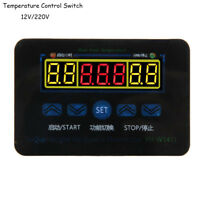 12 / 220V Digital LED Temperaturregler 10A Thermostat Steuerschalter + Sonde