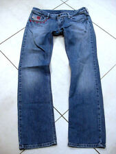 Womens DIESEL LOWKY Slim Straight JEANS stretch W28 L30 uk 10 low rise retro