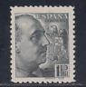 ESPAÑA (1939) NUEVO CON FIJASELLOS MLH SPAIN - EDIFIL 875 (1 pts) FRANCO LOTE 2