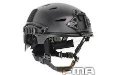 FMA EXF BUMP ABS Protective Helmet Tactical High Quality Airsoft CS BK TB741