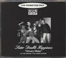 SISTER DOUBLE HAPPINESS / HORSEY WATER - PROMO CD 1994 * NEW