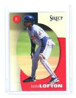 1998 Pinnacle Select Bankruptcy Test #115 KENNY LOFTON cleveland indians