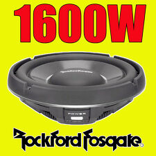 "Rockford Fosgate 12"" 12-inch 1600W CAR AUDIO Shallow Bass Sub Subwoofer T1S2-12"