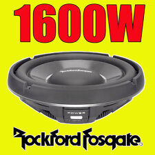 "Rockford Fosgate 12"" 12-inch 1600W CAR AUDIO Shallow Bass Sub Subwoofer T1S1-12"