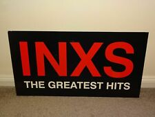 More details for inxs large store window display item for inxs - the greatest hits, thick card