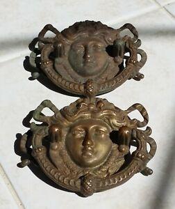 three antique ring pulls originals