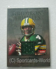 "BRETT FAVRE - 2004 Fleer Tradition ""Gridiron Tributes"" JERSEY Card #GT-BF"