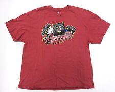 Sacramento River Cats Triple A Minor League Maroon Baseball Shirt Size XX-Large