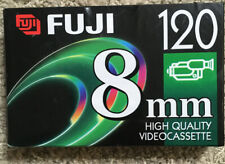 Fujifilm 120 8mm Video cassette P6-120 New Sealed