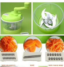 Multifunctional Meat Grinder Vegetables Cutting Machine Stuffing Mill Chopper
