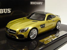 New Minichamps 1:43 Brabus Mercedes 600 AMG GTS 2016 Gold 437032522 ltd 300 pcs