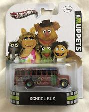 Hot Wheels Retro Entertainment The Muppets School Bus