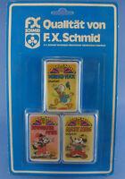 3x Quartett - DONALD DUCK + MICKY MAUS - FX SCHMID - NEU - Walt Disney
