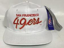 Vintage San Fransisco 49ers Sports Specialties Script Deadstock NFL NEW White
