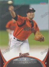 2016 Bowie Baysox Stefan Crichton RC Rookie Baltimore Orioles Minor League