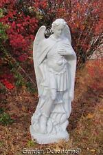 """Nice! ~ 24"""" ST. MICHAEL THE ARCHANGEL STATUE Indoor Outdoor Garden Decor"""