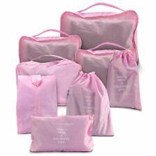 8Pcs/Set Organizer Set Luggage Suitcase Storage Bag Packing Cubes for Travel Us