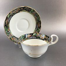 Antique Radford Asian Design Bone China Tea Cup & Saucer England Teacup