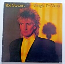 "Rod Stewart Tonight I'm Yours Canada 1981 Warner Bros Records Blues Rock 12"" LP"