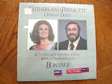SUTHERLAND PAVAROTTI OPERATIC DUETS BONYNGE 1984 UK IMPORT PRESSING NEAR MINT