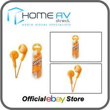 JVC HA-F160 gomoso In-Ear Auriculares iPod/iPhone compatible en Valencia Naranja