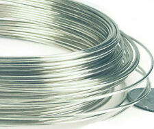 5ft 20 gauge solid 925 Sterling Silver round beading Wire Dead Soft craft wire