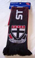 St Kilda Saints AFL Reversible Speckled Jacquard Football Scarf New