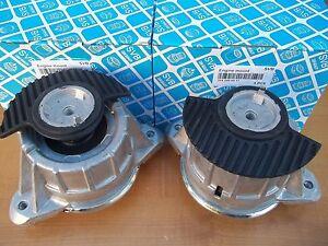 Engine Motor  Mount Mercedes Benz Pair 2 mounts HD 1 Year Warranty 2040917 SVB