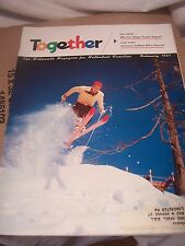 Vintage TOGETHER For Methodist Church Christian Families Magazine 1957 February