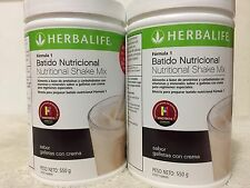 2X Herbalife Formula 1 Healthy Meal COOKIES & CREAM EXP (06-18) FREE SHIPPING