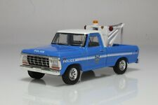 1979 Ford F-250 Wrecker / Tow Truck, NYPD Police NYC 1:64 Scale Diecast Model