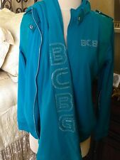 $320.00 BRAND NWT BCBG MAX AZRIA 2PC SET TRACK SUIT STUDS SIZE M