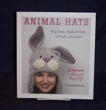 Animal Hats: 15 Patterns to Knit and Show Off  ,hobby, knitting, arts and crafts