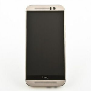 HTC One M9 32GB gold on silver Android Smartphone Neuware in neutral verpackt