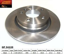 Disc Brake Rotor-Standard Brake Rotor Rear Best Brake GP34220