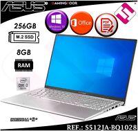 PORTATIL 15,6 ASUS VIVOBOOK INTEL I3 1005G1 256GB SSD 8GB W10 PRO TELETRABAJO