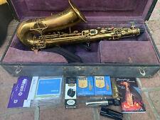 Vintage Buescher Saxophone Original Case